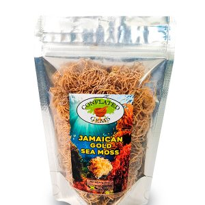 Raw Wild-Crafted Jamaican Gold Sea Moss 2oz