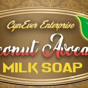 CynEver Coconut Avocado Milk Soap